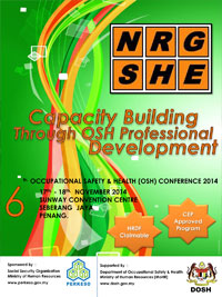 Meet us at OSH Conference 2014